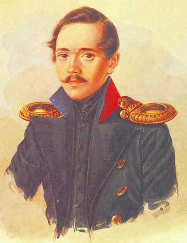 Лермонтов 1838 художник а и клюндер
