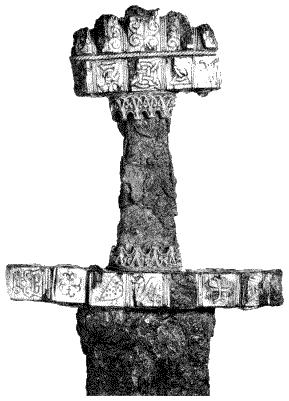 24 показана рукоять меча викингов мы
