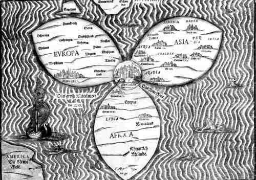 Карта еще довольно примитивна
