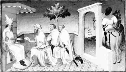 В средневековой византии и в европе