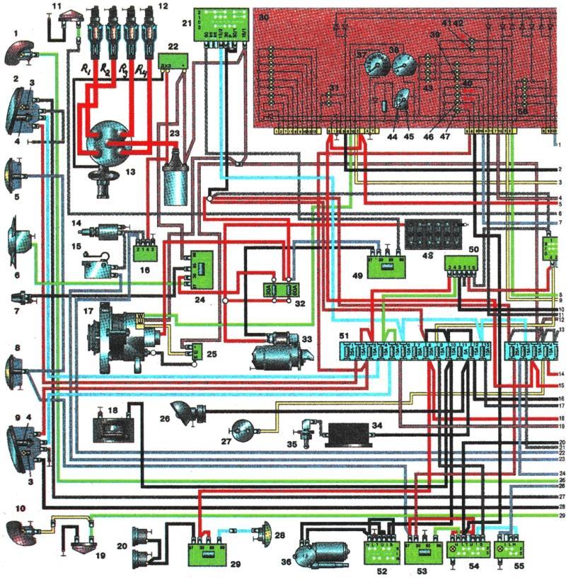 ГАЗ-3110 с двигателем ЗМЗ-